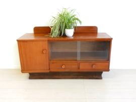 retro vintage kast dressoir tv meubel lp kast jaren 60
