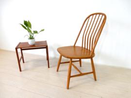 Vintage stoel Akerblom spijlenstoel jaren 50 zweden