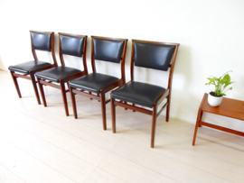 retro vintage stoel jaren 60 eetkamerstoel