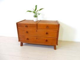 retro vintage ladekast kast dressoir tv meubel jaren 60