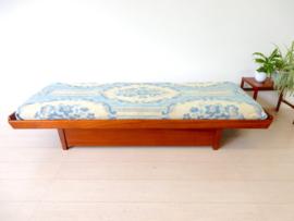retro vintage daybed slaapbank bank bed jaren 60 teak
