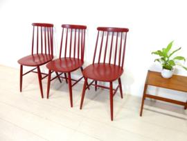 retro vintage stoel spijlenstoel jaren 60  pastoe