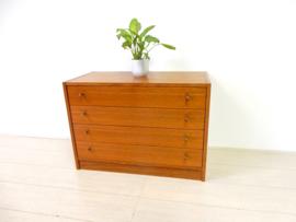 retro vintage ladekast kast dressoir jaren 60 / 70
