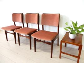 retro vintage stoel jaren 60 eetkamerstoelen teak