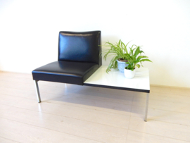 vintage fauteuil stoel bank salontafel tafel jaren 70 / 80