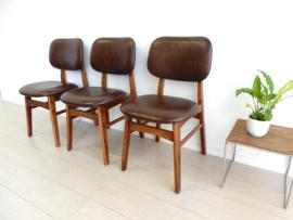 retro vintage stoel eetkamerstoel jaren 70 design