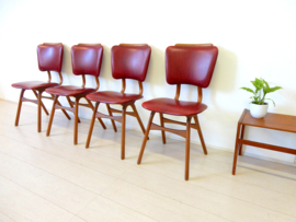 retro vintage stoel eetkamerstoel jaren 60 design