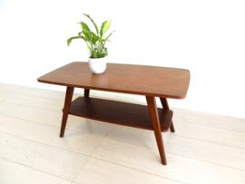 vintage bijzettafel salontafel plantentafel jaren 60