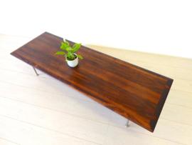 retro vintage salontafel tafel jaren 60 70 palissanderhout