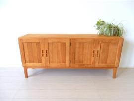 XL vintage tv kast deens dressoir tv meubel jaren 60 design