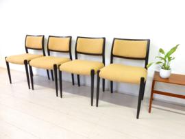 retro vintage NIELS OTTO MOLLER stoel eetkamerstoel jaren60 design