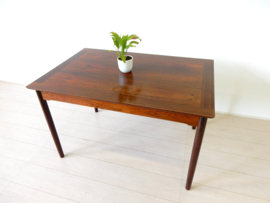 retro vintage eettafel tafel jaren 60 / 70 palissander hout