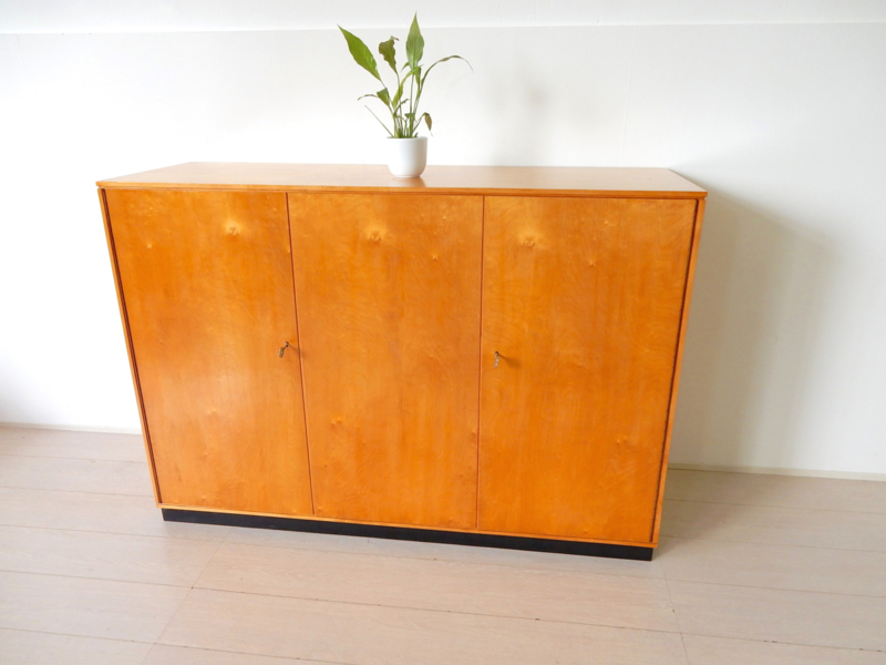 Vintage kast dressoir hoog model Pastoe Cees Braakman jaren 50