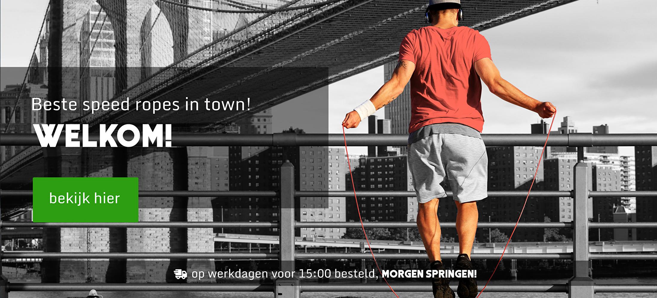 De online Sport Springtouw winkel | Koop hier je springtouw voor een thuis workout of Crossfit!