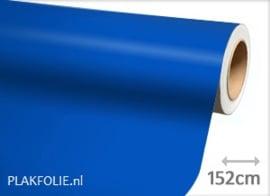 Mat blauw (wrap) folie 152CM BREED x P/M