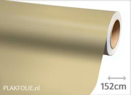Mat chroom champagne beige (wrap) folie 152CM BREED x P/M