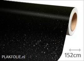 Diamant zwart (wrap) folie 152CM BREED x P/M