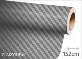 Carbon grijs 3D (wrap) folie 152CM