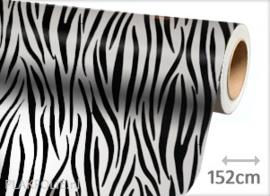 Zebra print (wrap) folie 152CM BREED x P/M