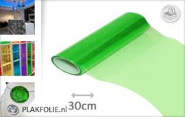 Groen tint folie 30CM BREED x P/M LENGTE ZELFKLEVEND
