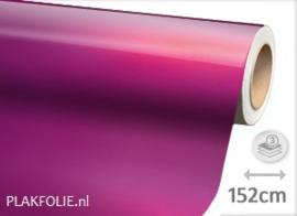 Glans metallic fuchsia (wrap) 152CM