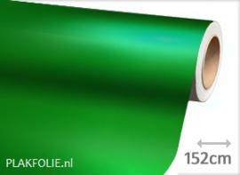 Mat chroom groen (wrap) folie 152CM BREED x P/M