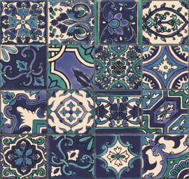 D-C-Wall® Ceramics Simenta Blau 67,5CM X 4M