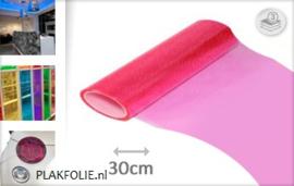 Roze tint folie 30CM BREED x P/M LENGTE ZELFKLEVEND