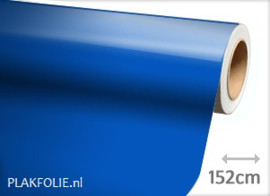 Glans blauw (wrap) folie 152CM