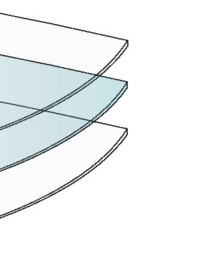 Zon/zicht/warmtewerend - Spiegel effect 67,5x150cm ZELFKLEVEND (p/rol)