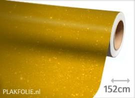 Diamant geel (wrap) folie 152CM BREED x P/M