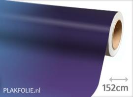 Kameleon blauw paars (wrap) folie 152CM BREED x P/M