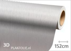 Brushed - alu grijs (wrap) folie 152CM BREED x P/M