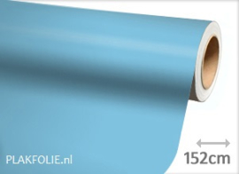 Mat licht blauw (wrap) folie 152CM BREED x P/M
