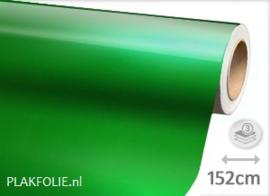 Glans metallic groen (wrap) 152CM BREED x P/M