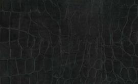 Kroko Zwart 45CM x 200CM