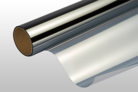Zicht/warmtewerend - Semi spiegel effect 92x200cm ZELFKL.