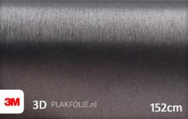 3M 1080 BR201 Brushed Steel 152CM