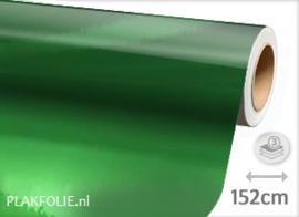 Chroom groen (wrap) folie 152CM BREED x P/M