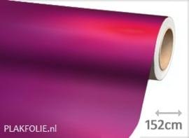 Mat chroom fuchsia (wrap) folie 152CM BREED x P/M