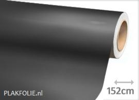 Mat chroom anthraciet (wrap) folie 152CM BREED x P/M
