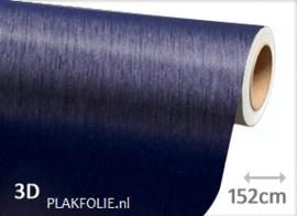 Brushed - alu blauw (wrap) folie 152CM