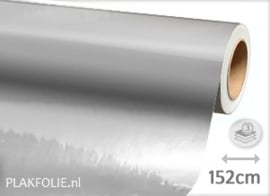 Chroom zilver (wrap) folie 152CM BREED x P/M