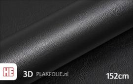 Hexis HX30PG889B Grain Leather Black Gloss 152CM BREED x P/M