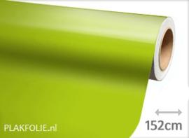 Glans limoen (wrap) folie 152CM BREED x P/M