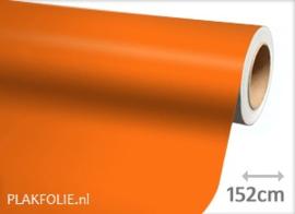 Mat oranje (wrap) folie 152CM BREED x P/M