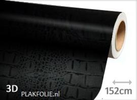Kroko print (wrap) folie 152CM BREED x P/M