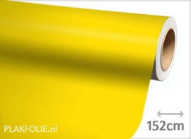 Mat geel (wrap) folie 152CM