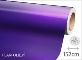 Glans metallic paars (wrap) 152CM BREED x P/M
