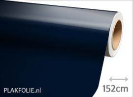 Glans donker blauw (wrap) folie 152CM BREED x P/M